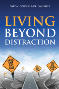 living beyond distraction book cover
